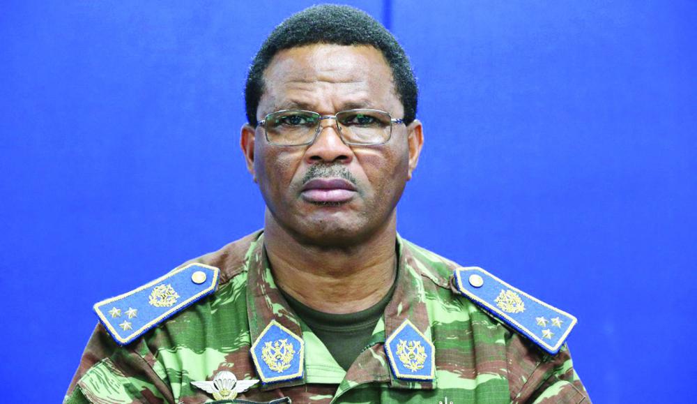 Général de corps d'armée Daniel Sidiki Traoré, commandant de la Force de la Minusca.