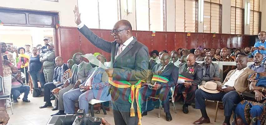 Ebolowa : les maires ont prêté serment