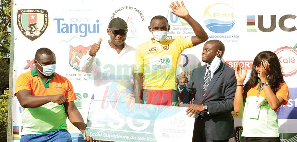 Tour of Cameroon : Kamzong Grabs Yellow Jersey