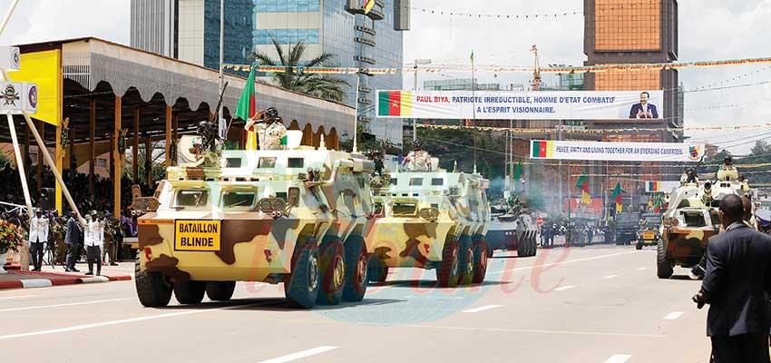 Mounted, Motorised Troops: Showcased Prowess To Defend Cameroon