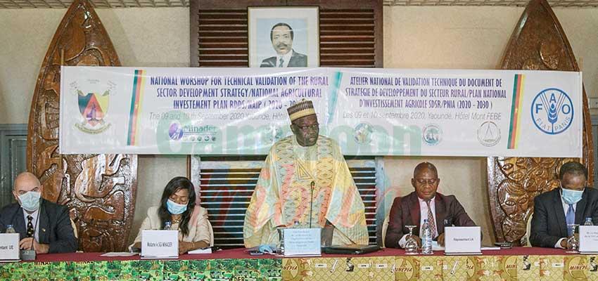 Développement du secteur rural  : les nouvelles orientations