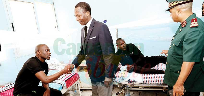 Hôpital militaire de Yaoundé: le Mindef au chevet des soldats blessés