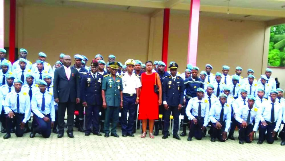 Centre national d'instruction des sapeurs-pompiers : fin de formation pour la première cuvée
