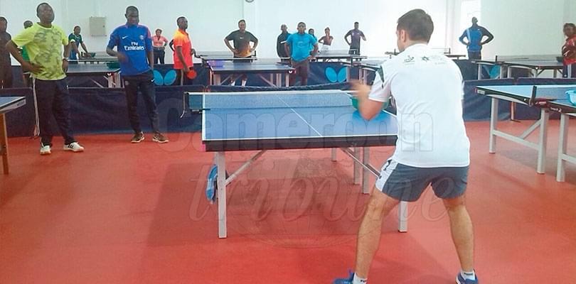 Tennis de table: cinq entraîneurs camerounais montent en grade