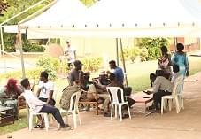 La vie a repris son cours normal pour ces compatriotes ex-combattants et réfugiés, en attendant qu'ils retrouvent leurs villages
