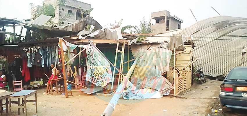 Douala : première pluie, premiers dégâts