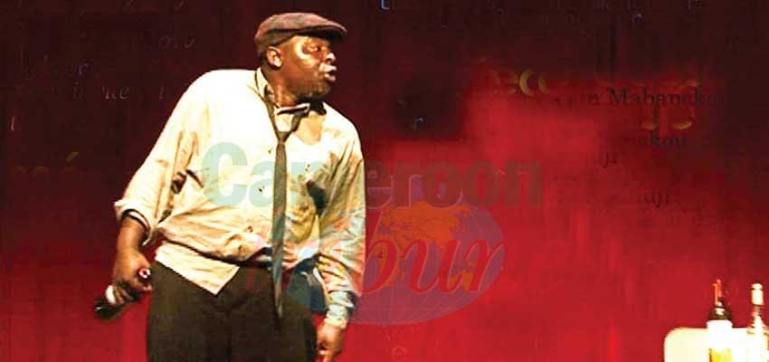 Théâtre : David Noundji est « Verre cassé »