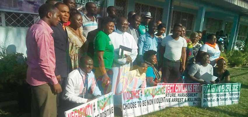 Situation in North West : Colloquium defines path for non violence, return to normalcy.