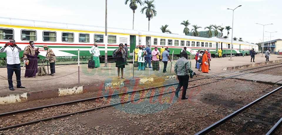 Douala-Yaoundé : le « Train express » sur les rails
