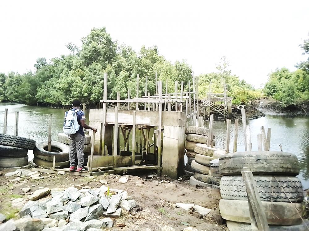 Pont Nsongongang-Mboh-Kon : les normes de construction ignorées