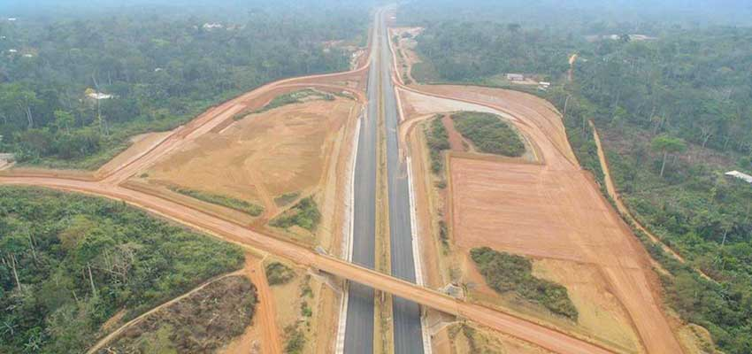 Road Construction: Yaounde-Douala Expressway Stretches Wider