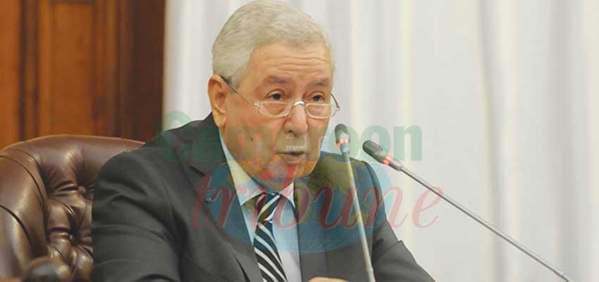 Abdelkader Bensalah To Manage Transition