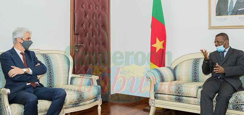 Star Building: PM Discusses With Belgian Diplomat