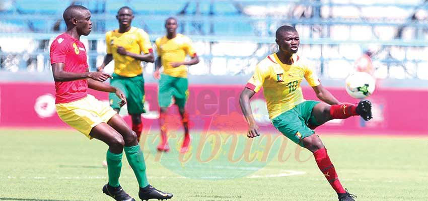 CAN-U17: le Cameroun au Mondial