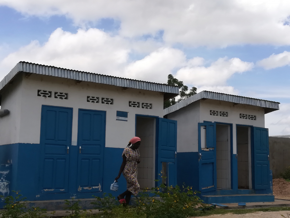 The construction by UNICEF of latrines has helped in reducing infections in Ngalbidje.