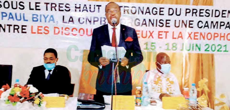 Lutte contre le discours haineux : la « Commission Musonge » sensibilise dans le Sud