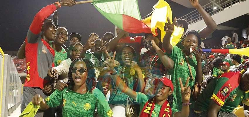 Accra: Cameroonians Gather In Support of Lionesses