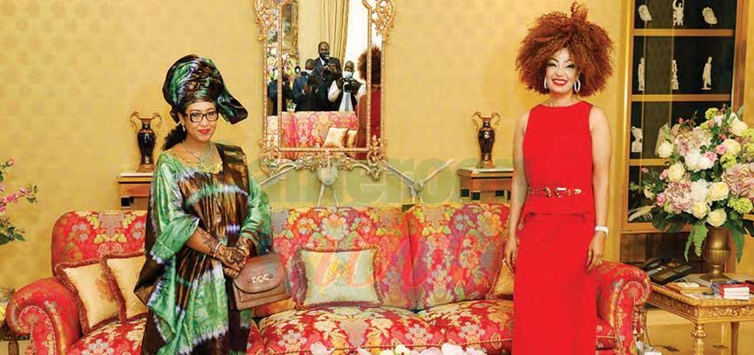 First Lady Congratulates Djaili Amadou Amal