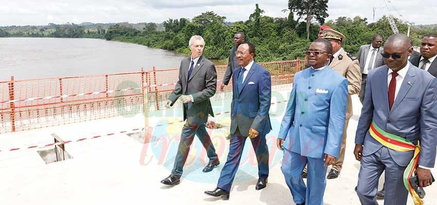 Axe Batchenga-Ntui : le pont sur la Sanaga ouvert aux piétons