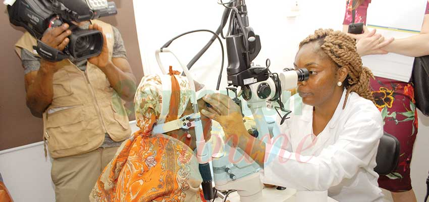 Hôpital ophtalmologique d'Oback: 4 800 chirurgies en deux ans