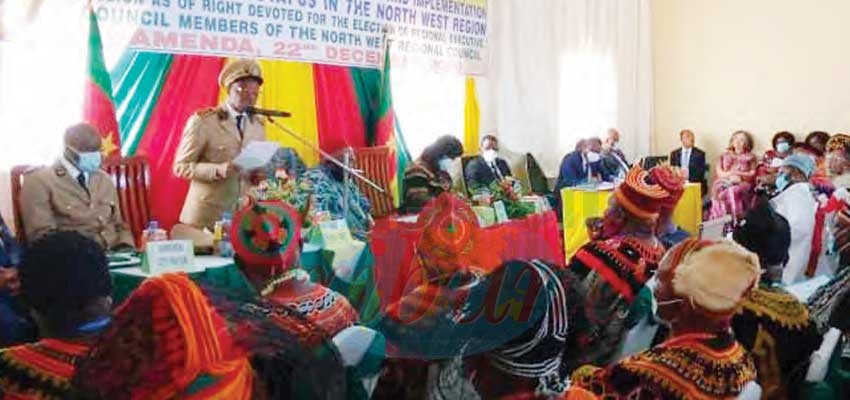 North West Regional Assembly : First Statutory Session Produces Pioneer Team Leaders