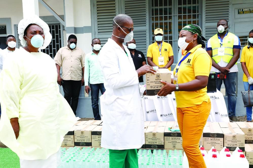 Hôpitaux central et Jamot : des dons pour renforcer la prise en charge