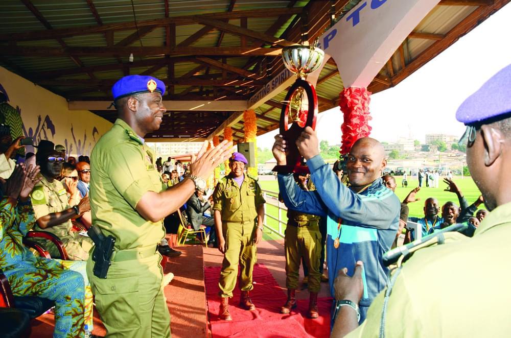 Garde présidentielle : rideau sur la saison sportive