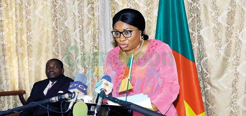 Le ministre Pauline Irène Nguene a appelé à la protection des personnes âgées.