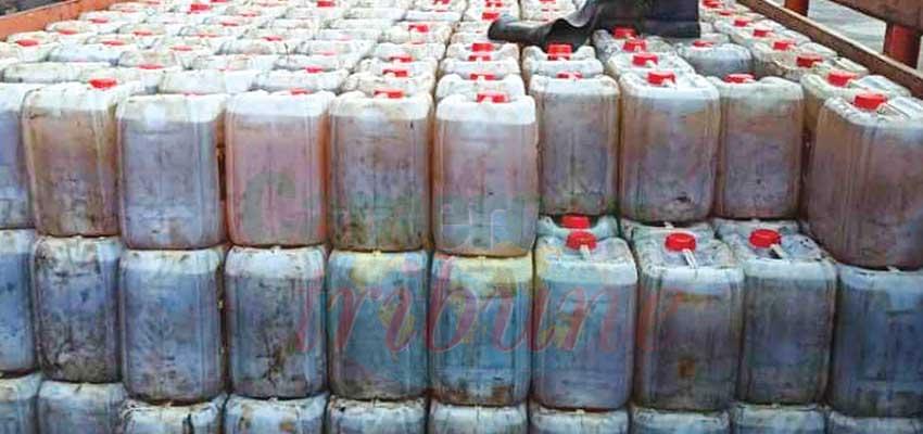 Ndogpassi : près de 700 bidons d'huile saisis