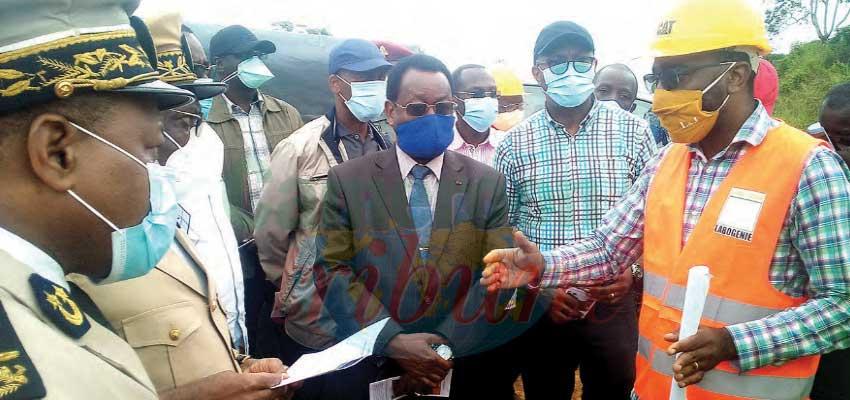 Marchés publics dans le Sud : le ministre inspecte les chantiers