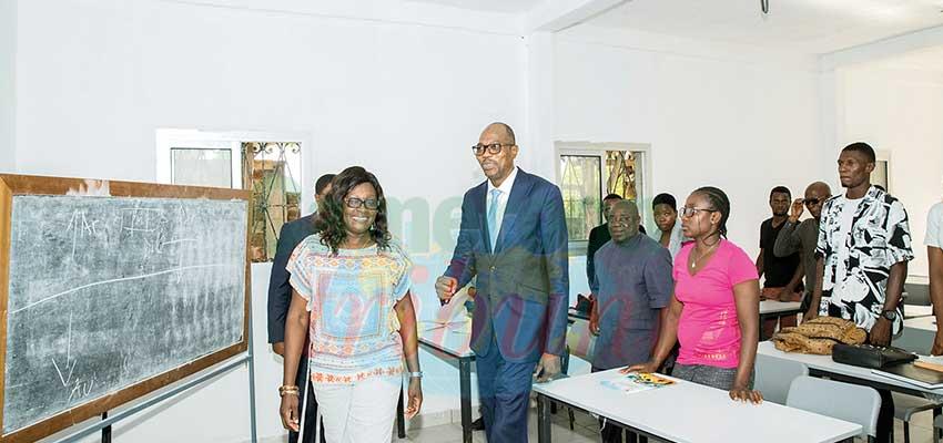 Institut des sports : la Confejes encourage Françoise Mbango
