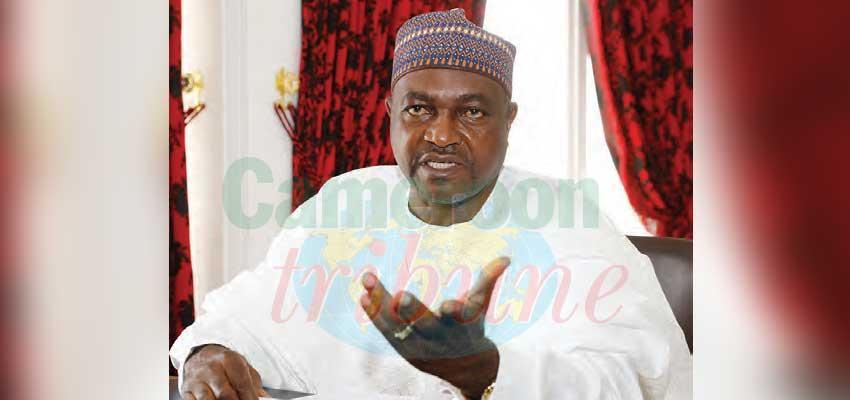 Francis Faï Yengo, coordonnateur national du Comité national de désarmement, de démobilisation et de réinsertion (CNDDR)