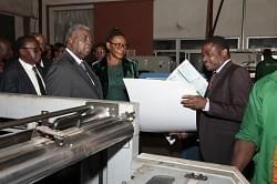 Minister Rene Sadi Visits SOPECAM