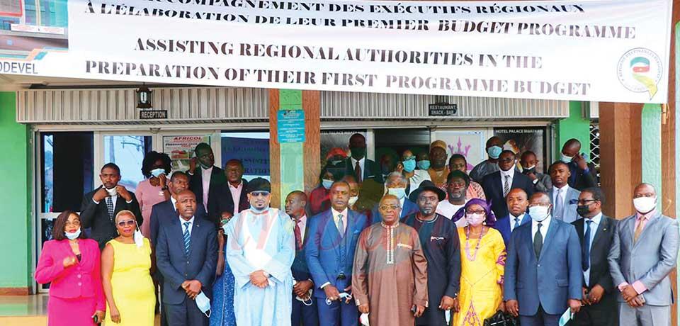 Le Conseil régional outillé pour l'élaboration de son budget programme.