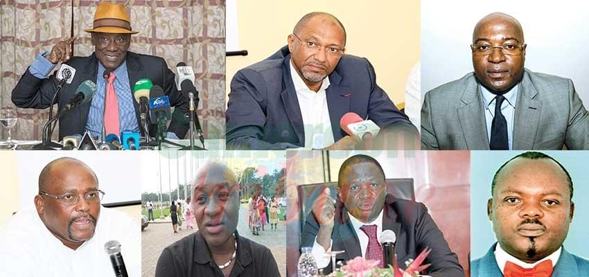 Image : Candidats à la présidence de la Fecafoot: Qui sont-ils ?