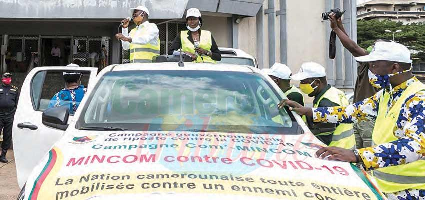 Anti-Covid-19 Proximity Caravan Tours Yaounde