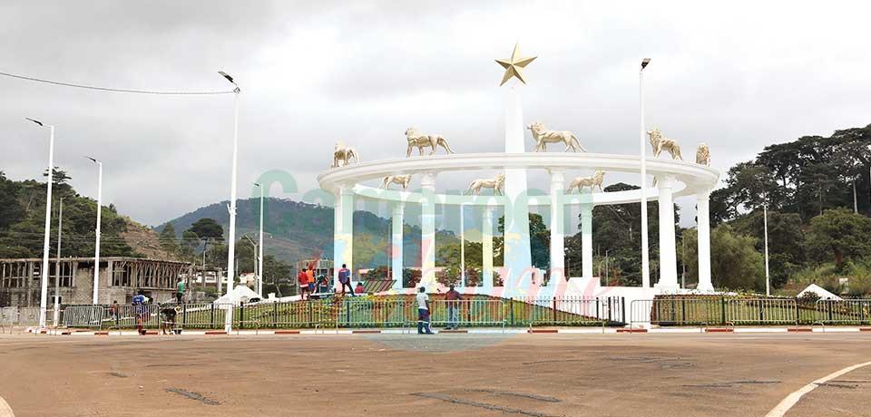Embellissement : un nouveau monument à Yaoundé