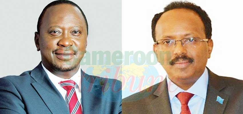 Aucune solution à l'amiable n'est envisagée pour le moment par Uhuru Kenyatta et Abdullahi Mahamed.