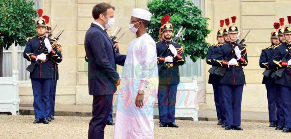 Chad : Mahamat Deby In France