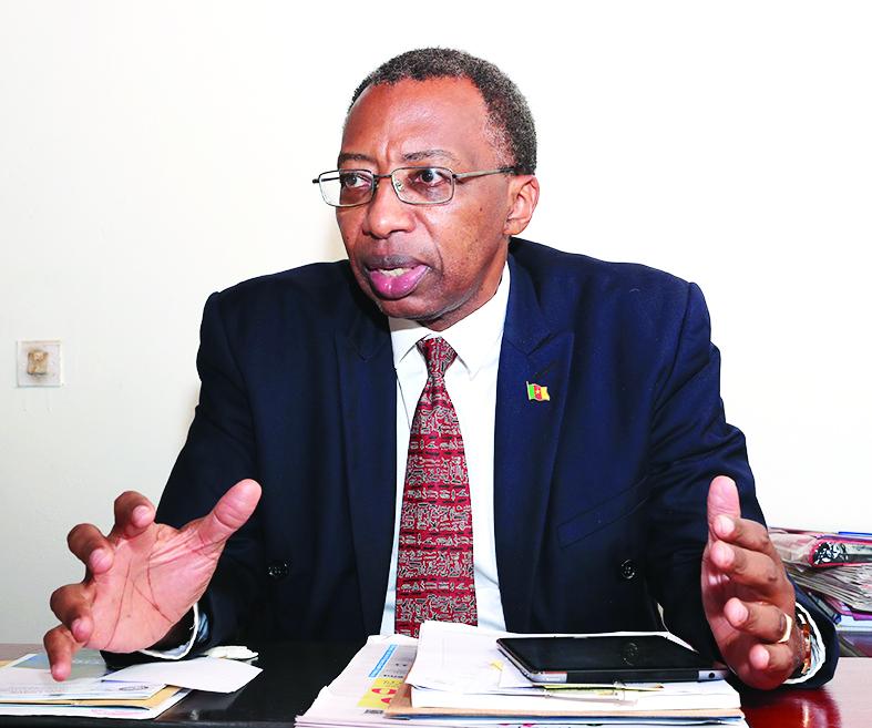 Pr Jean-Emmanuel Pondi, internationaliste et vice-recteur chargé des enseignements, de la professionnalisation et du développement des technologies de l'information et de la communication à l'Université de Yaoundé II-Soa.