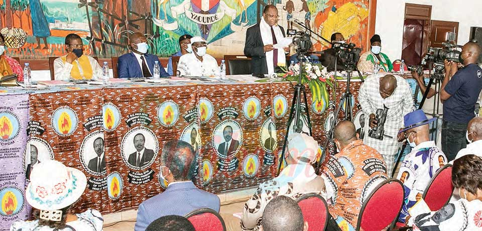 Renouvellement des organes de base du Rdpc : appel à la discipline dans le Mfoundi