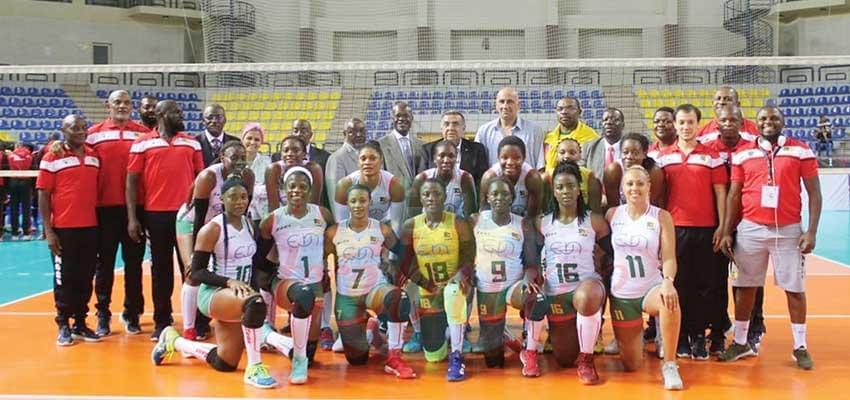 Lionnes de volley-ball : Paul Biya salue le patriotisme