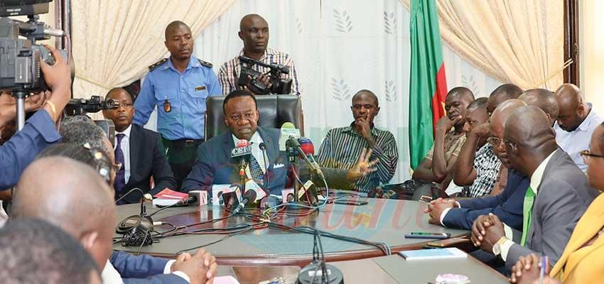 Le Pr. Jacques Fame Ndongo s'est voulu rassurant à l'endroit des candidats « indignés ».