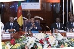 Image : President Paul Biya chairing the Ministerial Conference