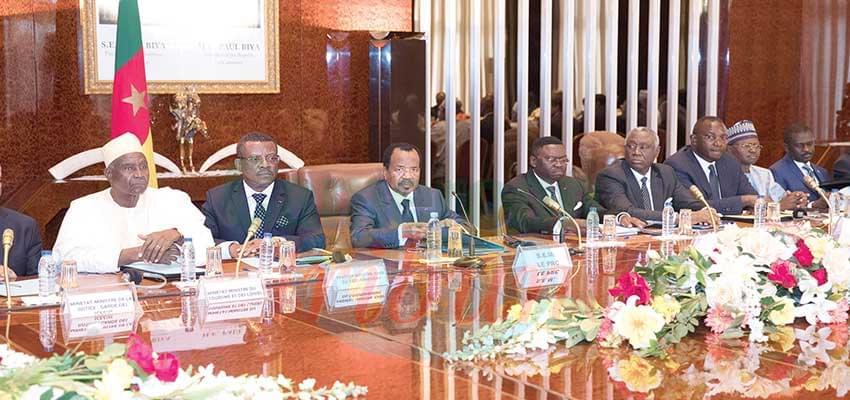 Gouvernement Dion Ngute : une année bien remplie