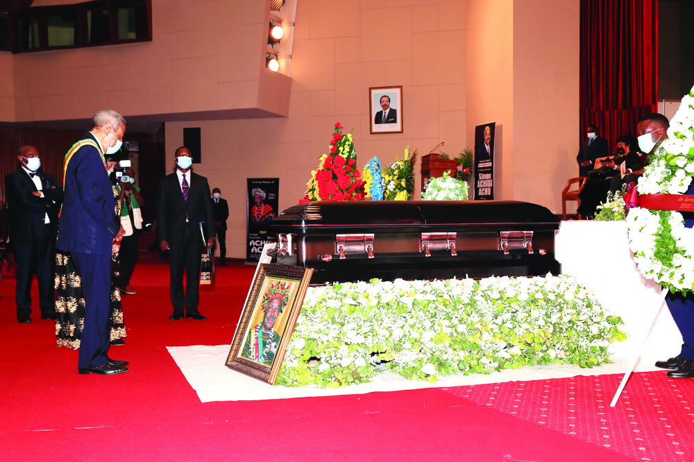 Au Sénat : Achidi Achu dans l'histoire