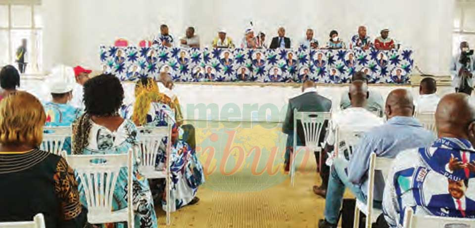 Sanaga-Maritime : les candidats édifiés