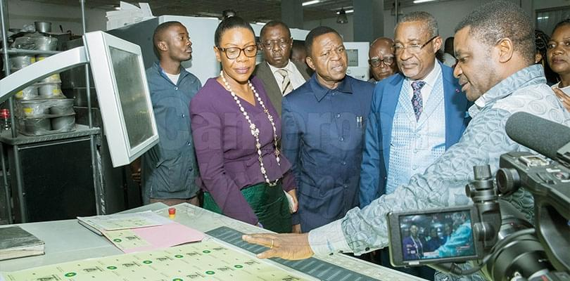 Image : Electoral Materials: ELECAM Assures Of Readiness On Time