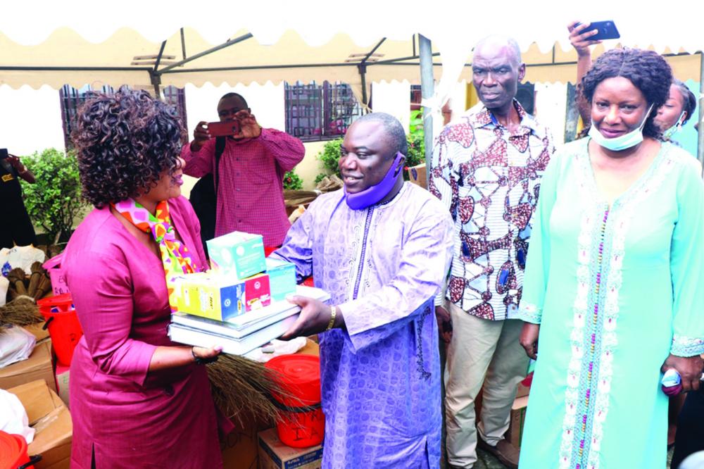 School Resumption Douala II Receives Didactic Material
