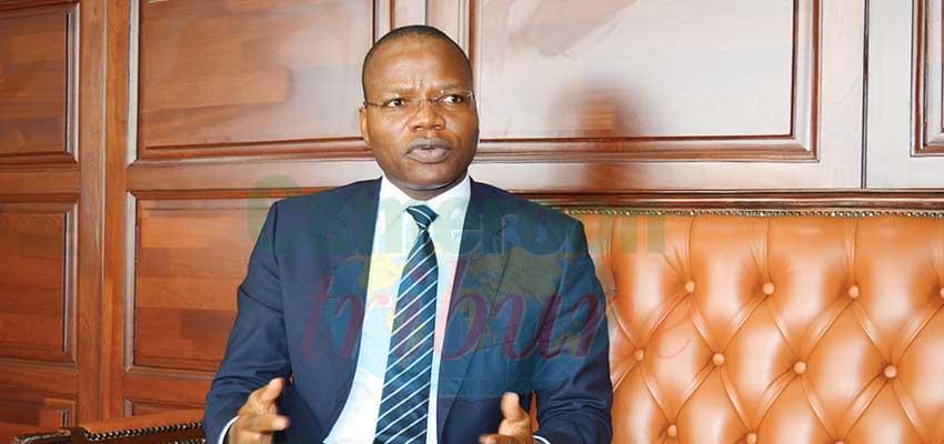 Modeste Mopa Fatoing, directeur général des Impôts.